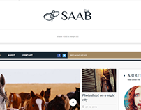 Saab – Magazine WordPress Theme