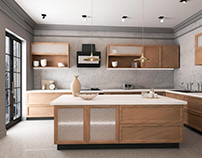 Residental Interior Design - Kitchen Design
