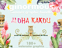Aloha Kakou - watercolor and love