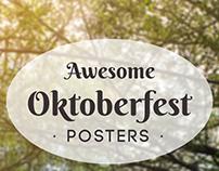 FREE Oktoberfest Posters (Ready To Print)