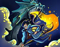 Иллюстрации к Гарри Поттеру Harry Potter illustrations