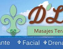 D'Liss logo y publicidad.