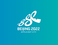 2022 Beijing (Candidate City) Winter Olympics Logo