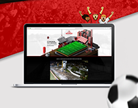 Novo Estádio Bento Freitas - Website