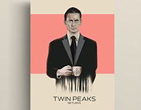 "Set Of Posters:""Twin Peaks"""