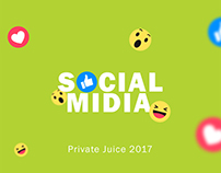 Private Juice Social Media Posts and GIF