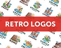 COLLECTION OF RETRO LOGOS