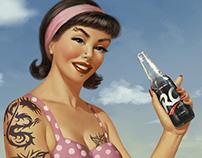 RC-Cola  Pin ups
