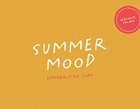 Summer Mood - Handwritten Font