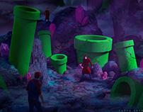 Mario Bros : The Lost World, Crystal Cave