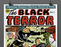 Vintage Comics restorations - Posters