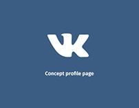 Social Network VKontakte   Concept
