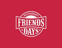 Friends Days Restaurant | Logo