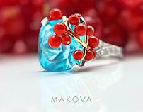 Identity for MAKOVA Jewelry