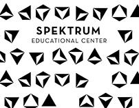 SPEKTRUM Educational Center - branding identity