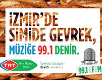 TRT Kent Radyoları / İZMİR / New Concept