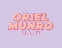 Oriel Munro Hair Branding