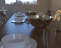 Complex Scenes for Physically-based Rendering