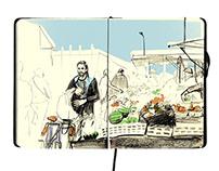 East London Sketchbook