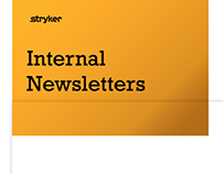 Stryker internal Newsletter