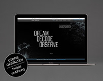 Projekteinführung: DREAM, DECODE, OBSERVE, COLLECT