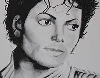 MJ - Painting 70 x 70 cm