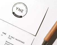 YNE Records - Branding