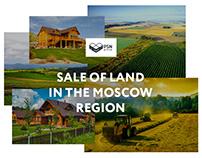Website «PSN». Sale of land