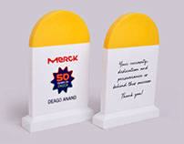 Merck Milestone Souvenirs