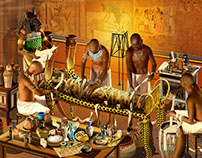 Making Mummies | Ancient Egypt | Stuart Jackson-Carter