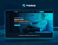 Toro website redesign concept