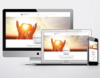 Diseño web para Ampere Energy.