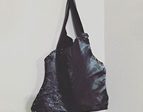 No Sew Leather Tote 1