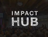 Impact Hub Print + Email Design