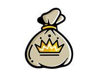 Kings Hustle Icon Logo