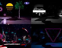 Neon Decoration - VJ Loop Pack (5in1)