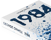 George Orwell Book Covers — Handmade Project