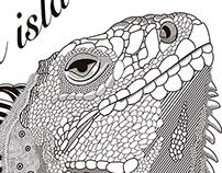 La isla de las iguanas