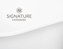 Signature Hardware Corporate Identity System