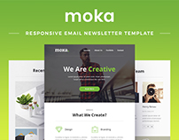 Moka - Responsive Email Newsletter Template