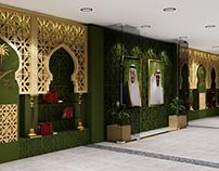 ROYAL EMBASSY OF SAUDI ARABIA ROOF