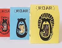 Roar Cereals // Linocut project