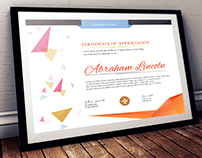 Simple Multipurpose Certificate GD044