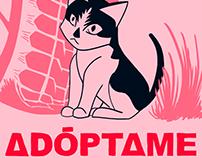 Flyer de adopción