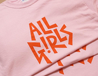 'All Girls' Tshirt Charity Project