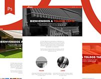 Toldos Tapia - UI/UX Design