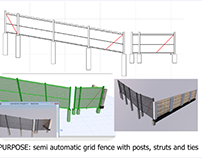 fence archicad model
