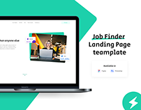 GoWwworks – Employment Agency Landing Page UI Template