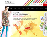 Kate Spade Concept for JustLuxe