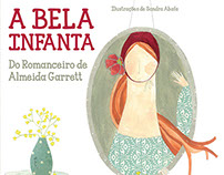 A Bela Infanta - book cover and pagination